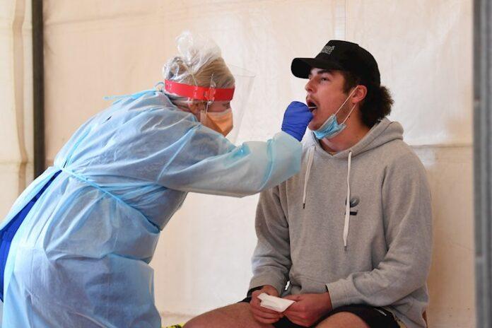 prueba a un paciente
