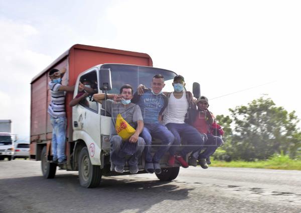 inmigrantes honduras